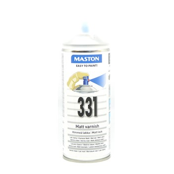 Maston Matt Klarlakk 400ml (331)