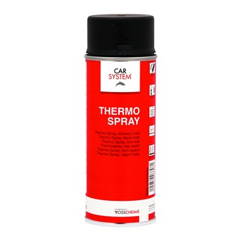 Termospray Svart 600 ºC (Varmebestandig) 400ml
