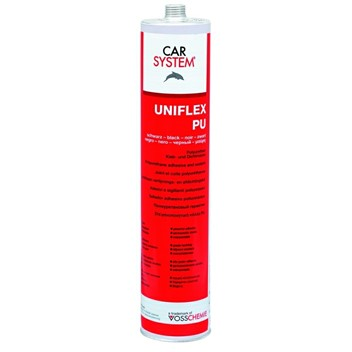 Uniflex PU Svart Fugelim 310ml