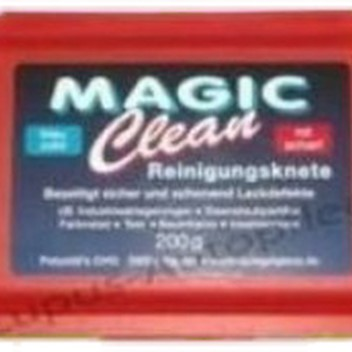 Magic Clean (Clay/Leire) Rød Grov z.64r